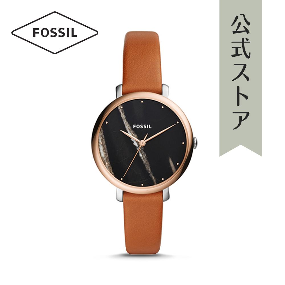 『公式ショッパープレゼント』フォッシル 腕時計 公式 2年 保証 Fossil レディース ジャクリーン ES4378 JACQUELINE