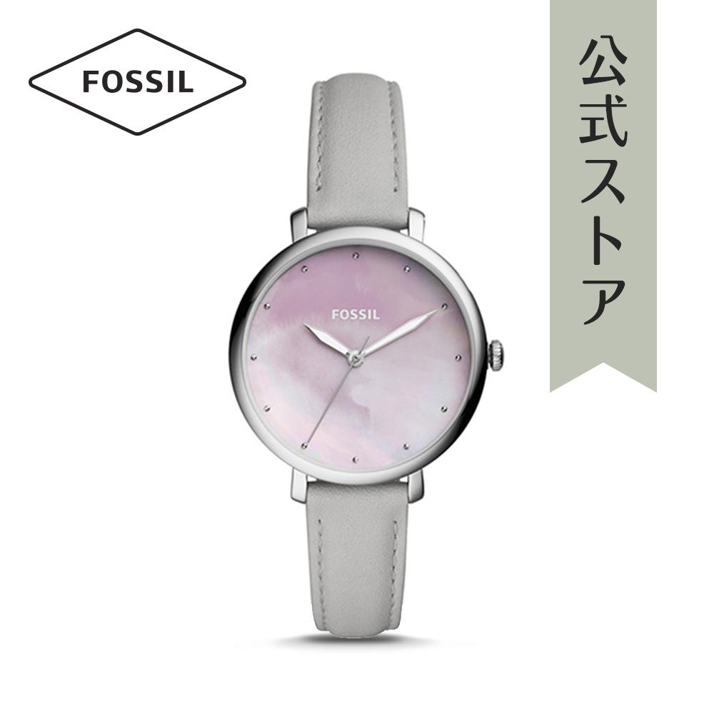 『公式ショッパープレゼント』30%OFF フォッシル 腕時計 公式 2年 保証 Fossilレディース ジャクリーン ES4386 JACQUELINE