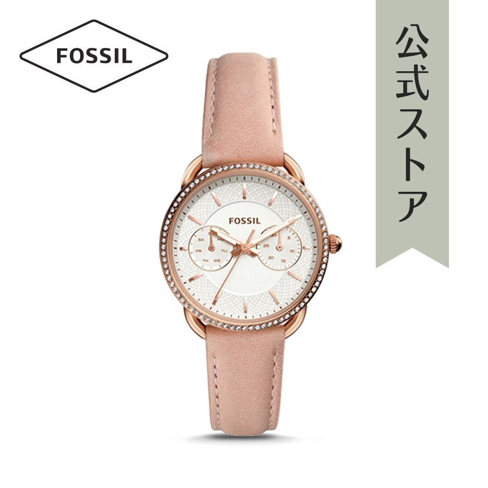 【1000円OFFクーポン配布中/25日まで】【公式ショッパープレゼント】フォッシル 腕時計 公式 2年 保証 Fossil レディース テイラー ES4393 TAILOR