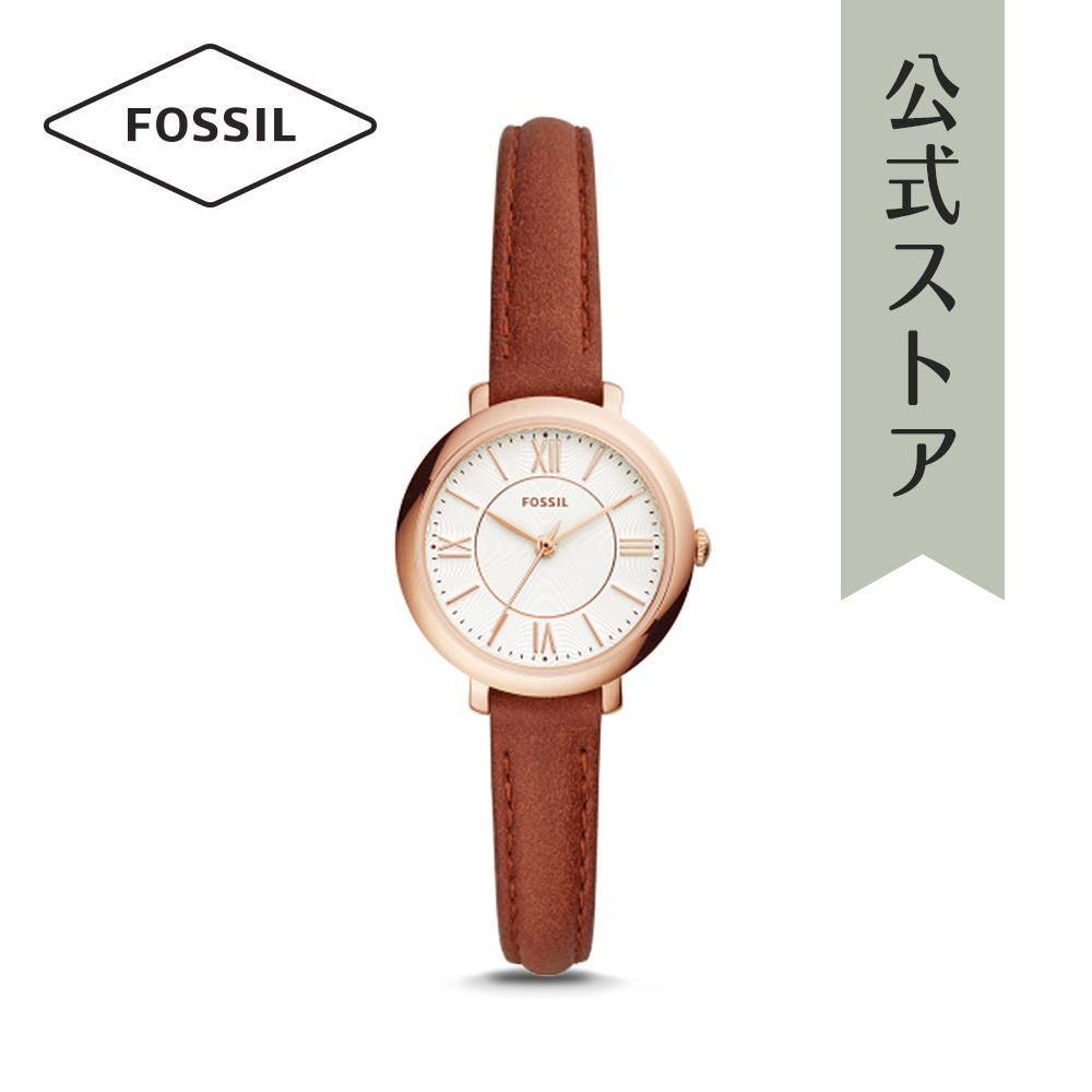 『公式ショッパープレゼント』フォッシル 腕時計 公式 2年 保証 Fossil レディース ジャクリーン ES4412 JACQUELINE