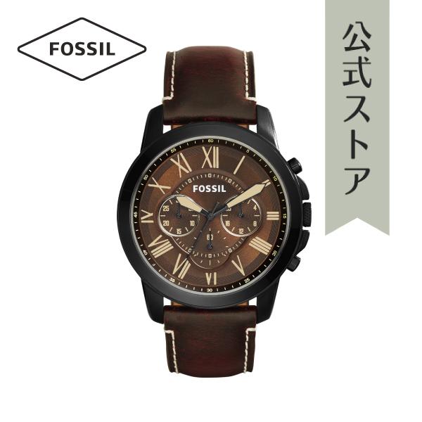 『公式ショッパープレゼント』30%OFF フォッシル 腕時計 公式 2年 保証 Fossil メンズ グラント FS5088 GRANT