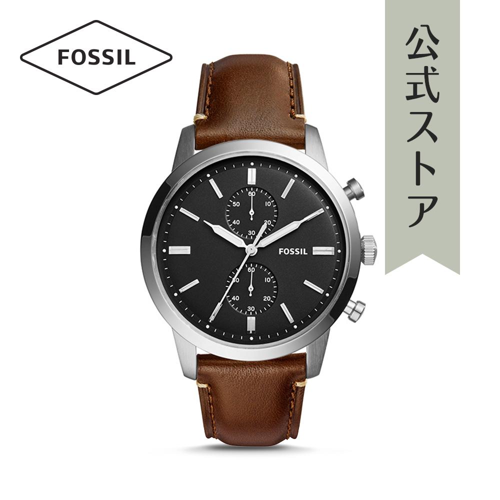 『公式ショッパープレゼント』21%OFF フォッシル 腕時計 公式 2年 保証 Fossil メンズ タウンズマン FS5280 TOWNSMAN