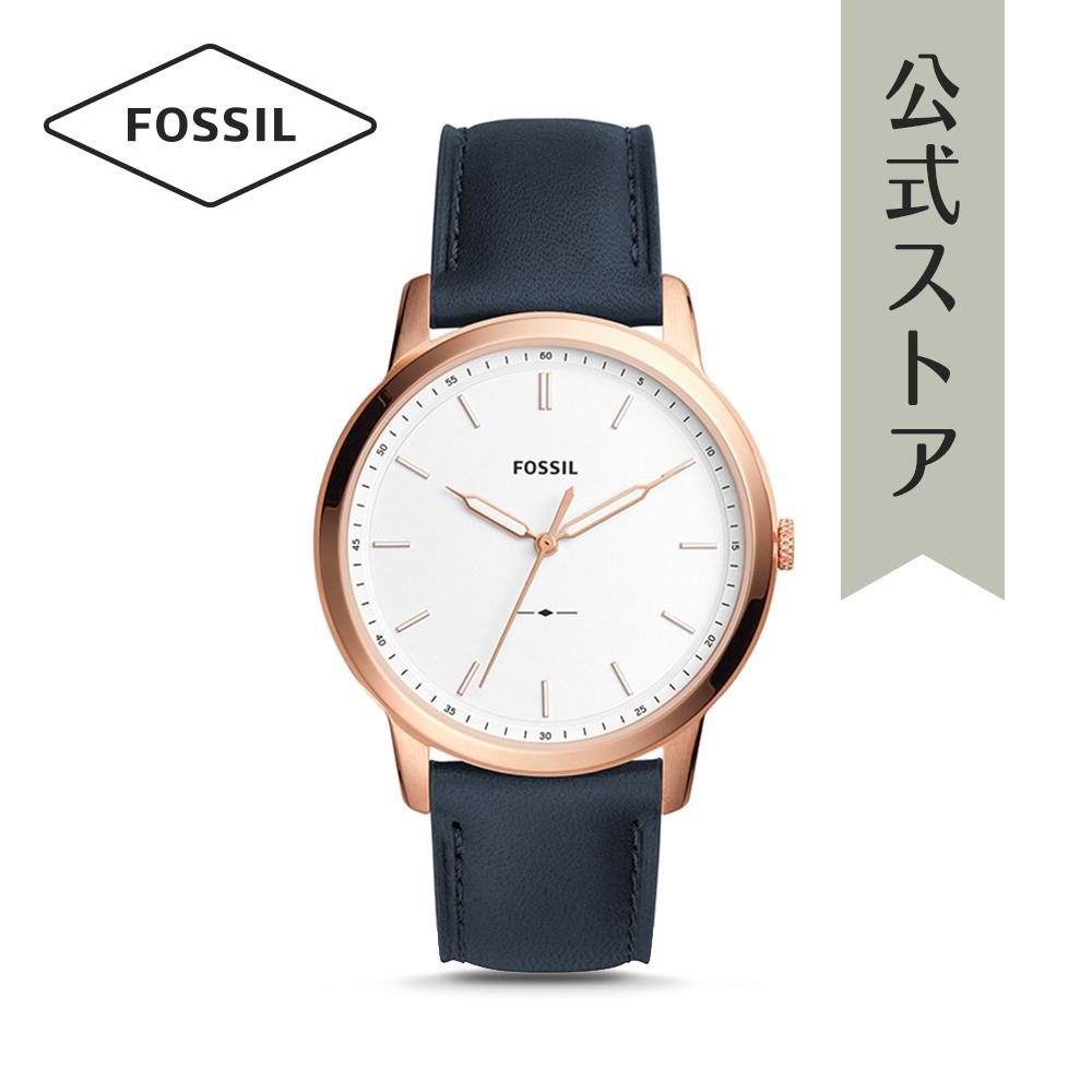 『公式ショッパープレゼント』フォッシル 腕時計 公式 2年 保証 Fossil ペアウォッチ メンズ ミニマリスト FS5371 THE MINIMALIST