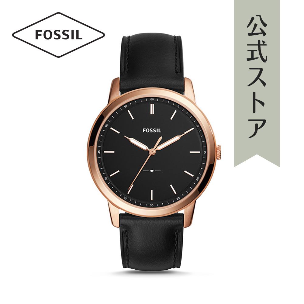 『公式ショッパープレゼント』フォッシル 腕時計 公式 2年 保証 Fossil メンズ ミニマリスト FS5376 THE MINIMALIST