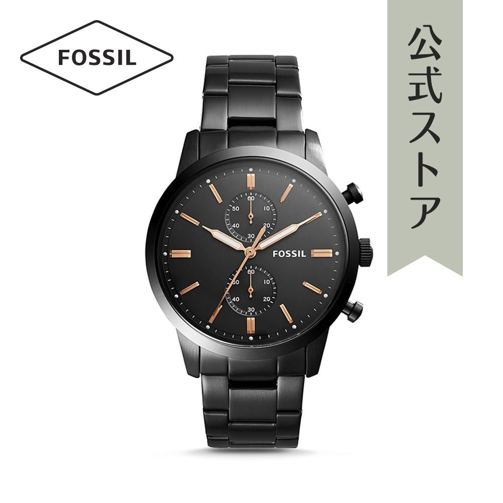 『公式ショッパープレゼント』36%OFF フォッシル 腕時計 公式 2年 保証 Fossil メンズ タウンズマン FS5379 TOWNSMAN