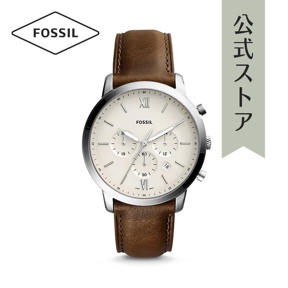 『公式ショッパープレゼント』フォッシル 腕時計 公式 2年 保証 Fossil メンズ ノイトラ クロノ FS5380 NEUTRA CHRONO