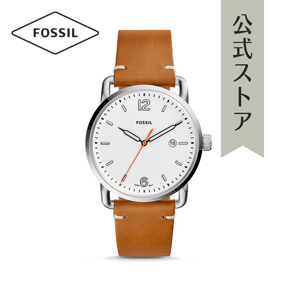 【P最大24倍/21日20時~26日1:59】『ショッパープレゼント』フォッシル 腕時計 公式 2年 保証 Fossil メンズ コミューター FS5395 THE COMMUTER