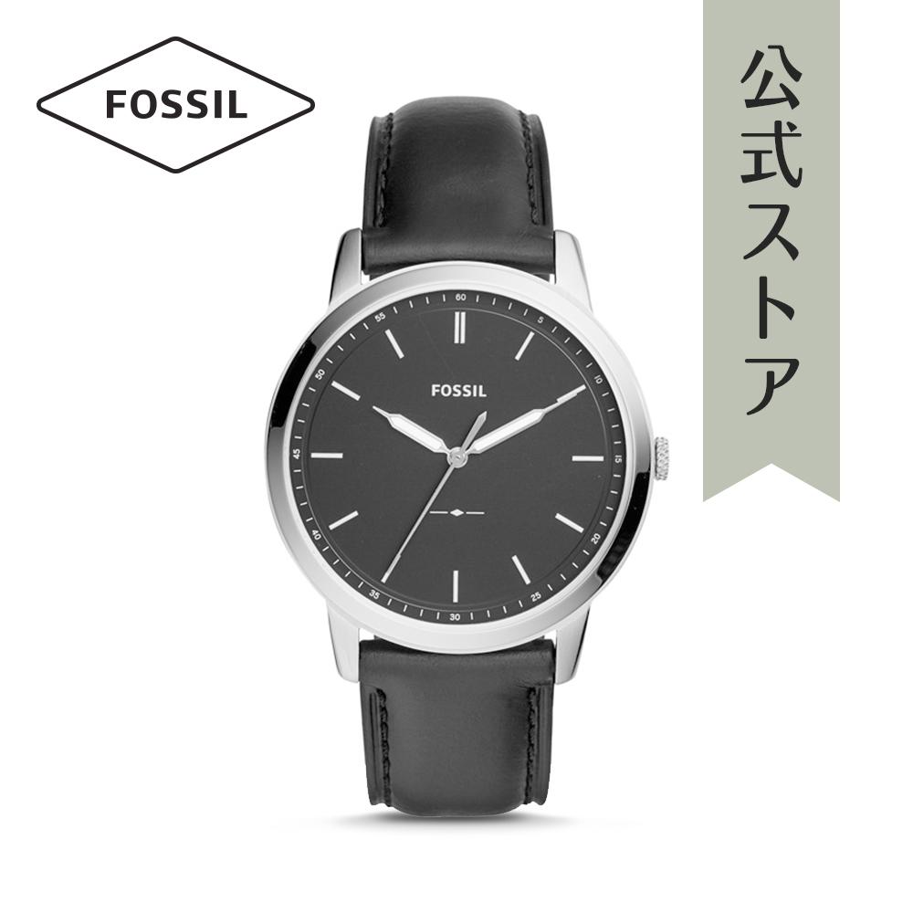 『公式ショッパープレゼント』フォッシル 腕時計 公式 2年 保証 Fossil メンズ ミニマリスト FS5398 THE MINIMALIST