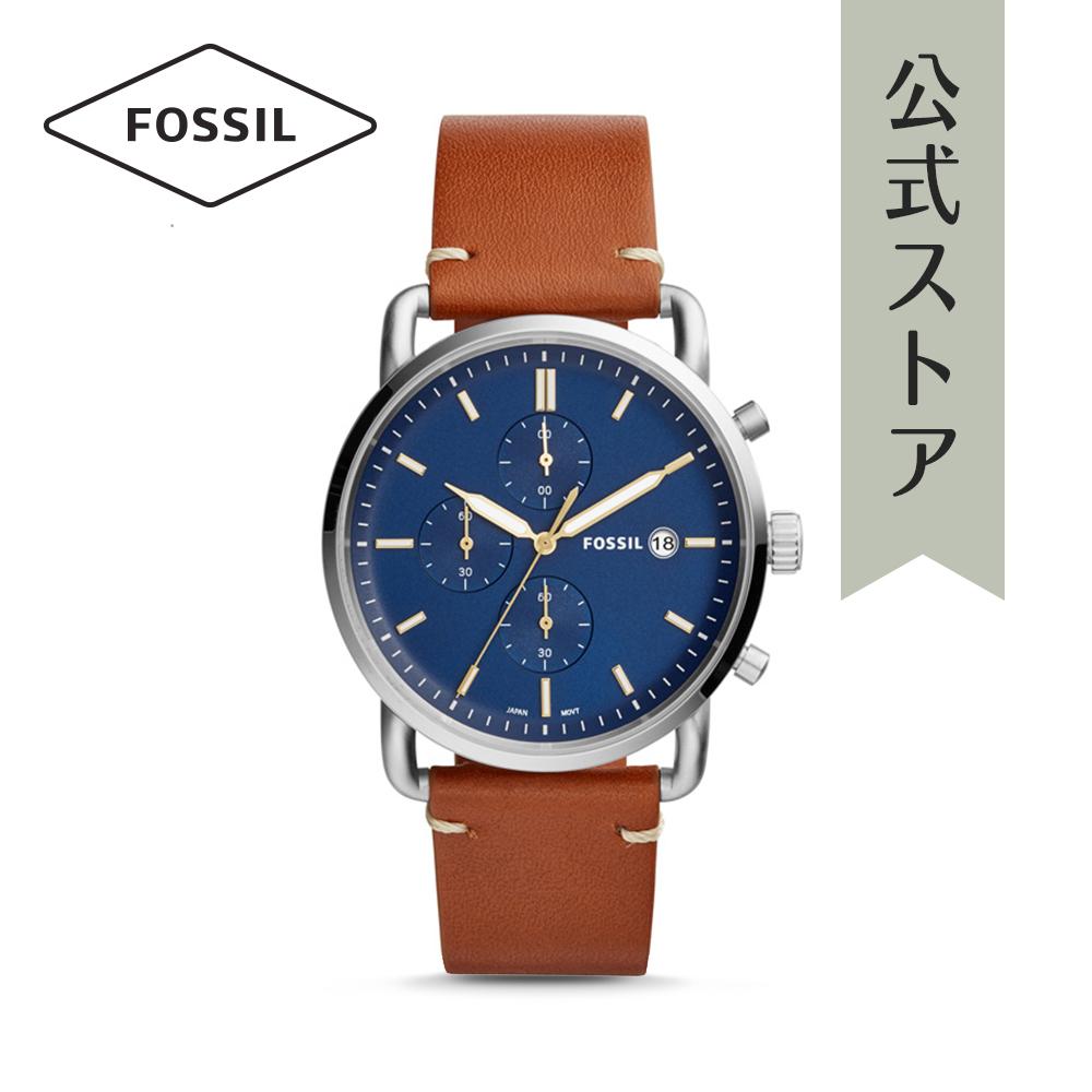 『公式ショッパープレゼント』フォッシル 腕時計 公式 2年 保証 Fossil メンズ コミューター クロノ FS5401 THE COMMUTER CHRONO