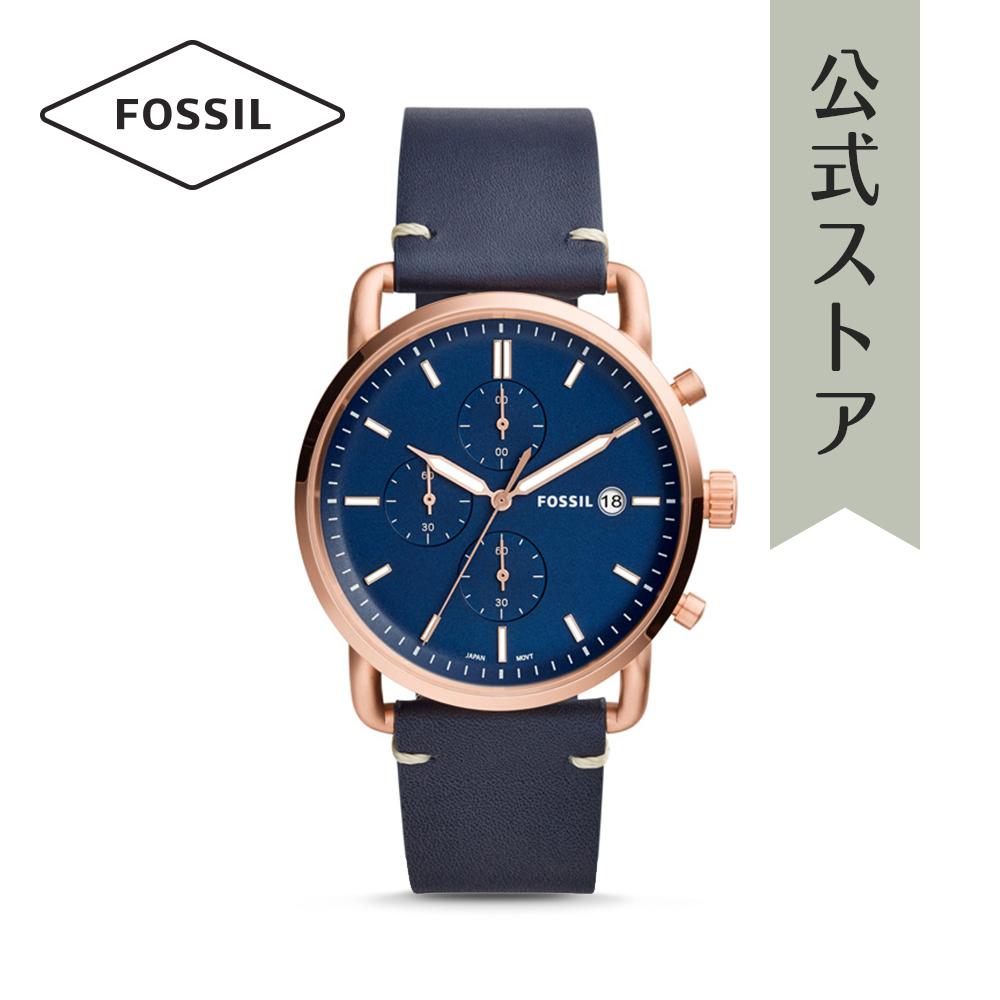 『公式ショッパープレゼント』フォッシル 腕時計 公式 2年 保証 Fossil メンズ コミューター クロノ FS5404 THE COMMUTER CHRONO