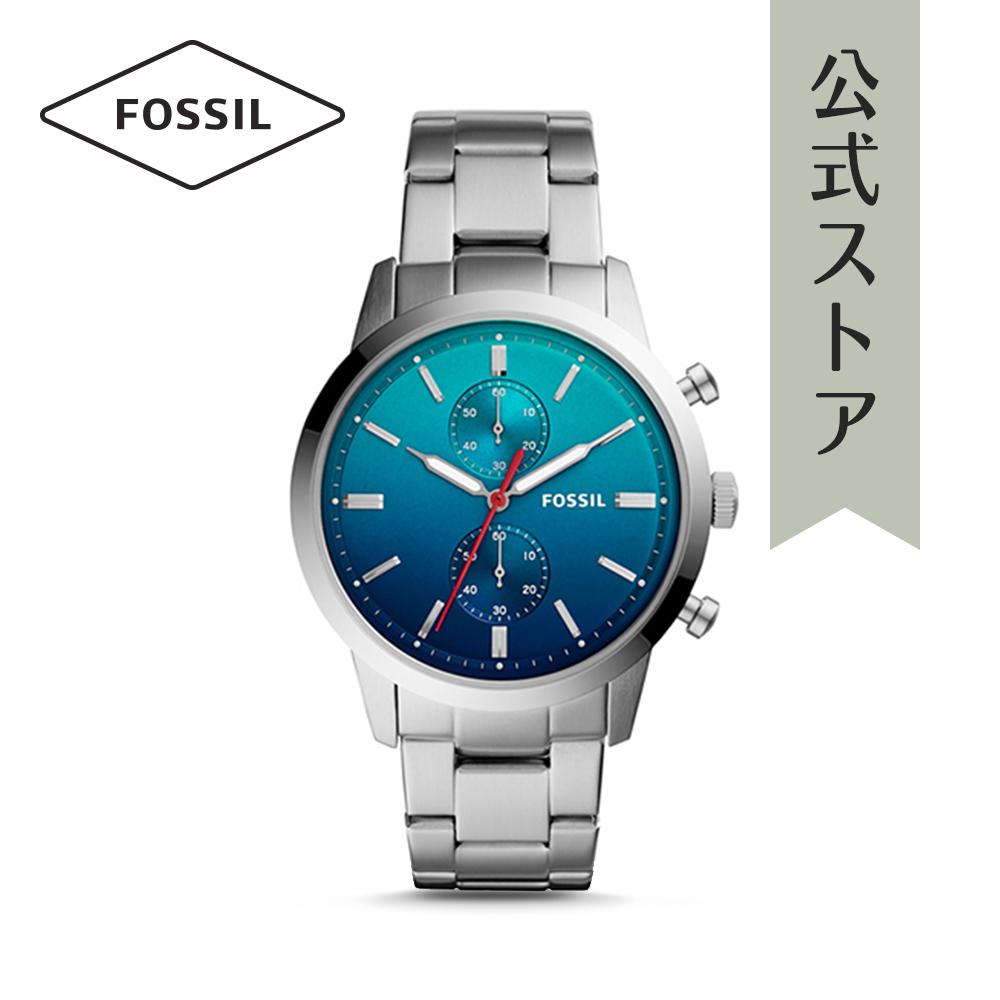 『公式ショッパープレゼント』フォッシル 腕時計 公式 2年 保証 Fossil メンズ タウンズマン FS5434 TOWNSMAN