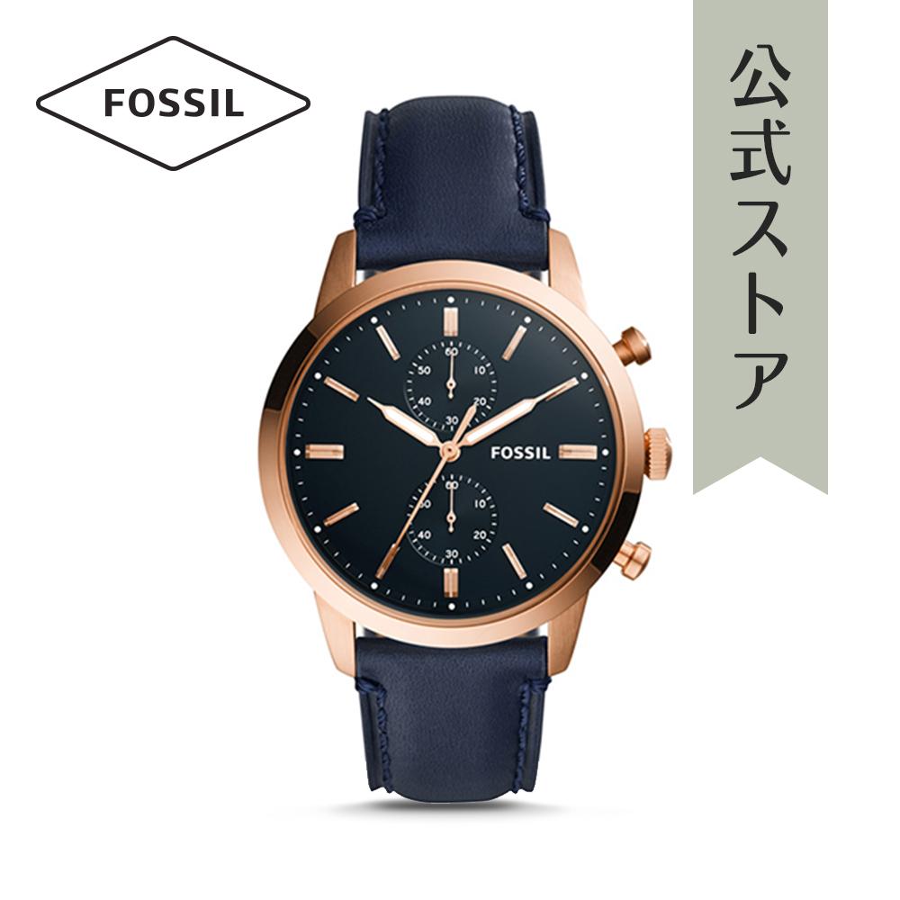 『公式ショッパープレゼント』フォッシル 腕時計 公式 2年 保証 Fossil メンズ タウンズマン FS5436 TOWNSMAN