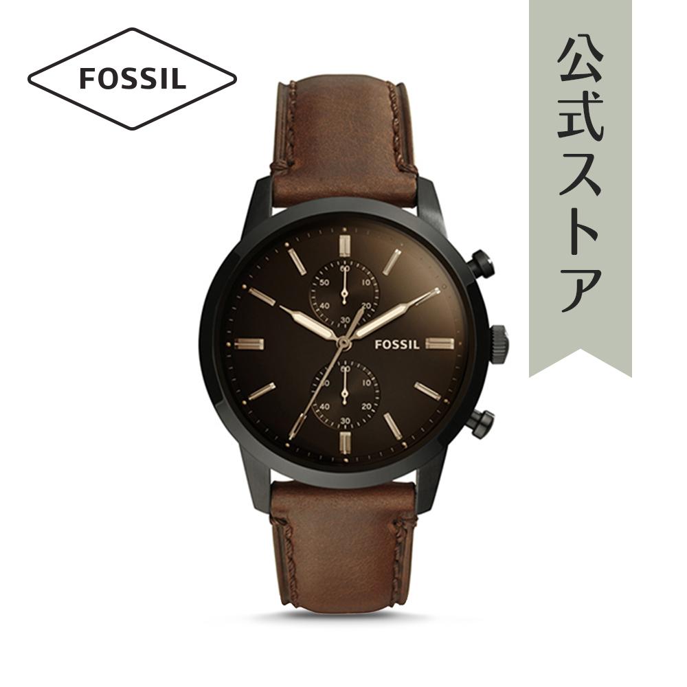 『公式ショッパープレゼント』フォッシル 腕時計 公式 2年 保証 Fossil メンズ タウンズマン FS5437 TOWNSMAN