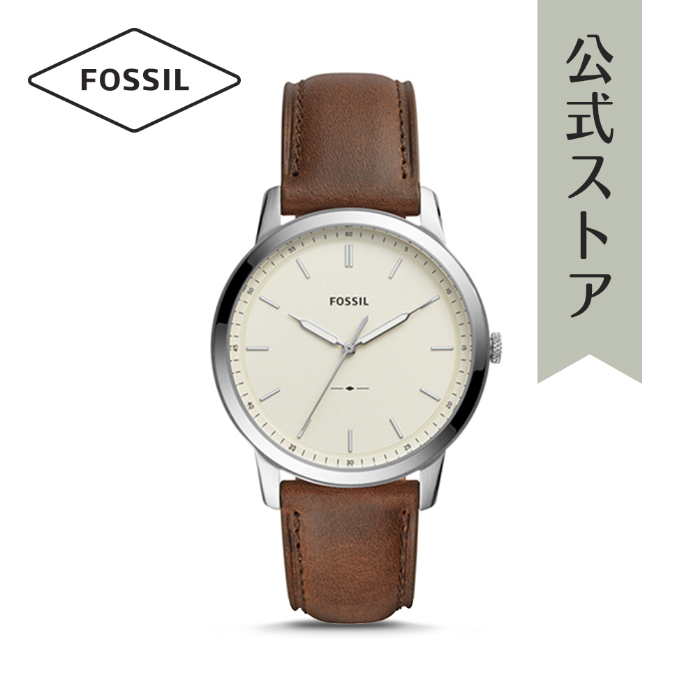 『Fashion week P最大18倍~1/8(火)9:59まで』2018 新作 フォッシル 腕時計 公式 2年 保証 Fossil メンズ ミニマリスト FS5439 THE MINIMALIST 3H