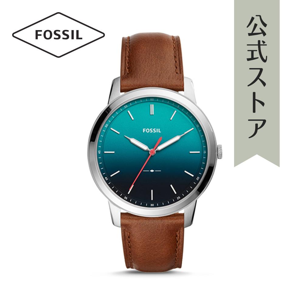 『公式ショッパープレゼント』フォッシル 腕時計 公式 2年 保証 Fossil メンズ ミニマリスト FS5440 THE MINIMALIST 3H