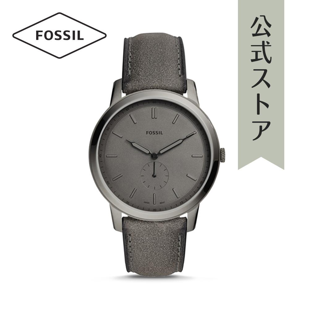『公式ショッパープレゼント』フォッシル 腕時計 公式 2年 保証 Fossil メンズ ミニマリスト モノ FS5445 THE MINIMALIST - MONO