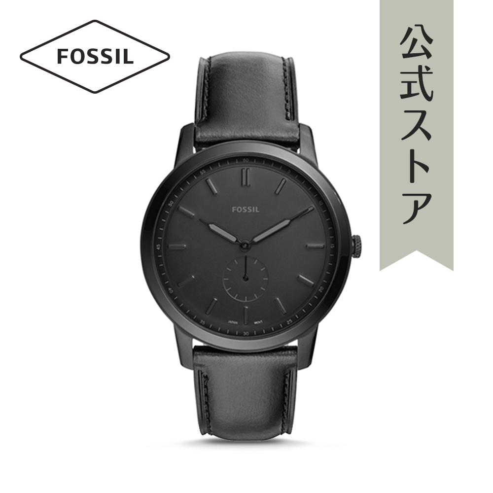 『公式ショッパープレゼント』フォッシル 腕時計 公式 2年 保証 Fossil メンズ ミニマリスト モノ FS5447 THE MINIMALIST MONO
