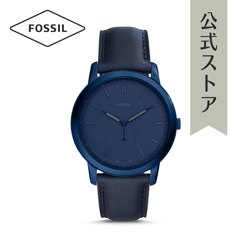 『公式ショッパープレゼント』フォッシル 腕時計 公式 2年 保証 Fossil メンズ ミニマリスト モノ FS5448 THE MINIMALIST MONO
