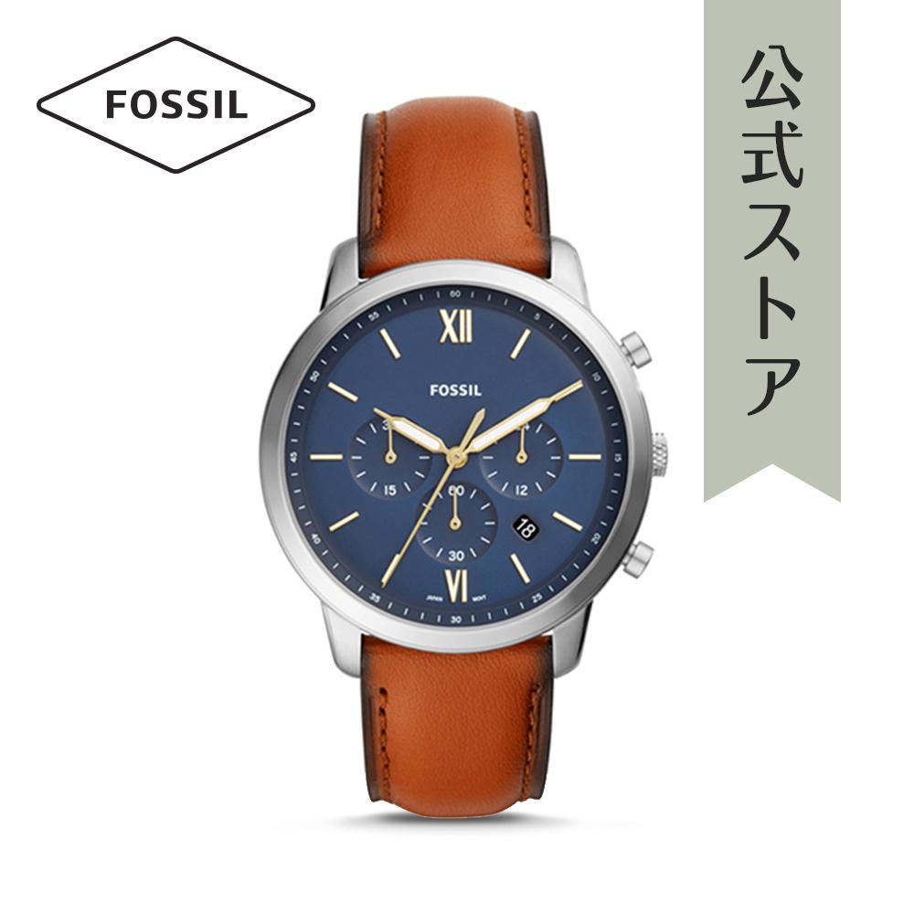 『公式ショッパープレゼント』フォッシル 腕時計 公式 2年 保証 Fossil メンズ ニュートラ クロノ FS5453 NEUTRA CHRONO