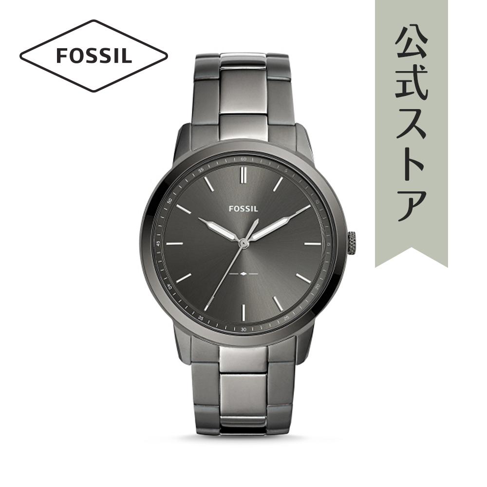 『公式ショッパープレゼント』フォッシル 腕時計 公式 2年 保証 Fossil メンズ ザ・ミニマリスト FS5459 THE MINIMALIST