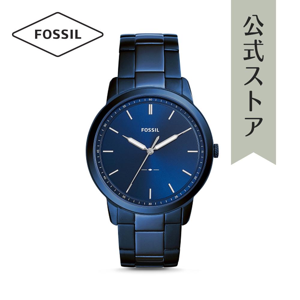 『公式ショッパープレゼント』フォッシル 腕時計 公式 2年 保証 Fossil メンズ ザ・ミニマリスト FS5461 THE MINIMALIST