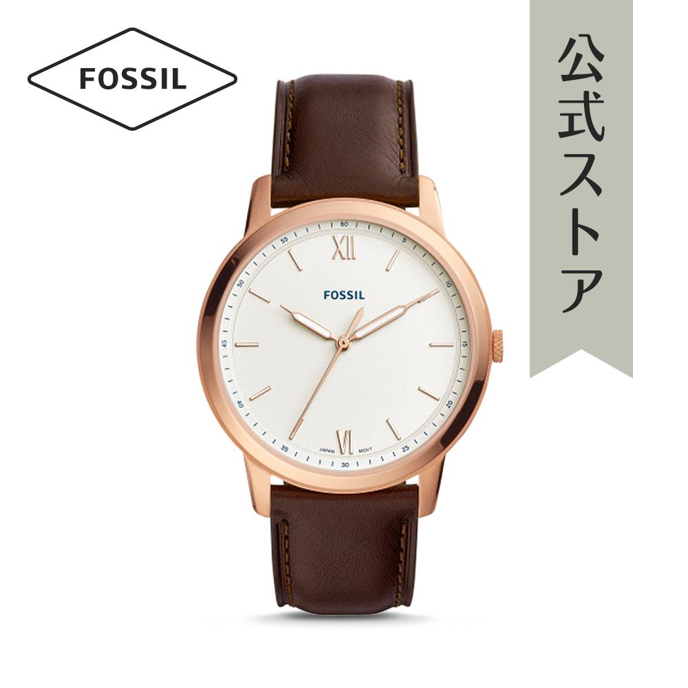 『公式ショッパープレゼント』フォッシル 腕時計 公式 2年 保証 Fossil メンズ ザ・ミニマリスト FS5463 THE MINIMALIST