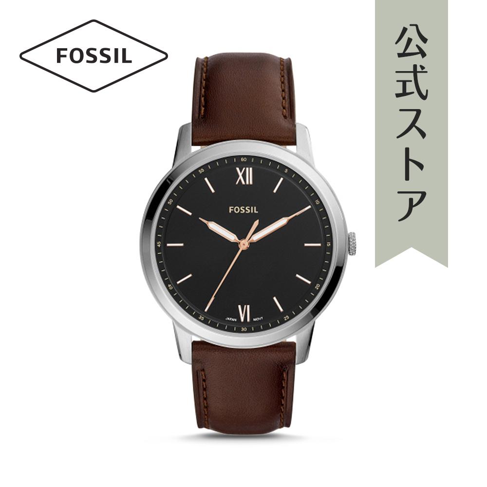『公式ショッパープレゼント』フォッシル 腕時計 公式 2年 保証 Fossil メンズ ザ・ミニマリスト FS5464 THE MINIMALIST