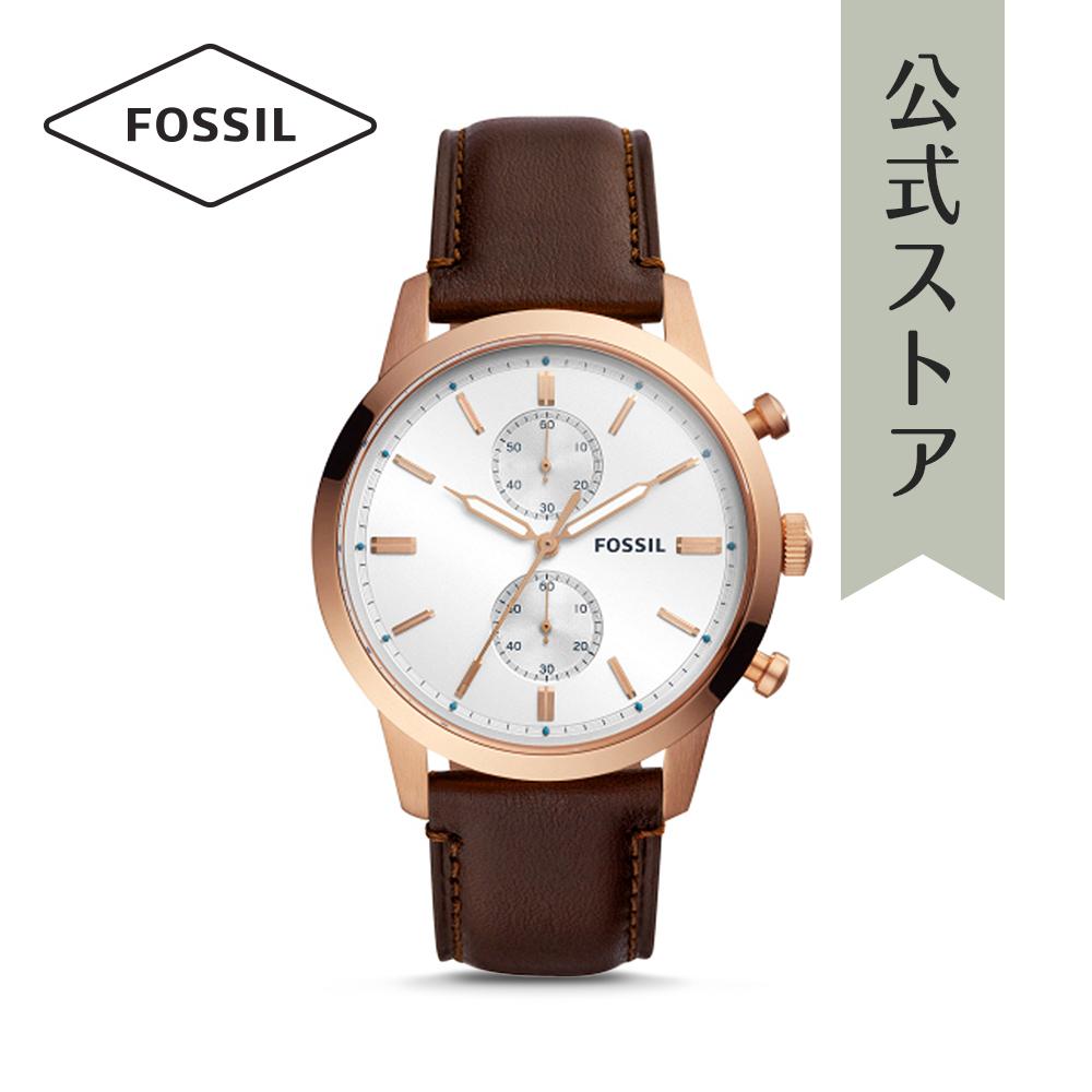 『公式ショッパープレゼント』24%OFF フォッシル 腕時計 公式 2年 保証 Fossil メンズ タウンズマン TOWNSMAN FS5468