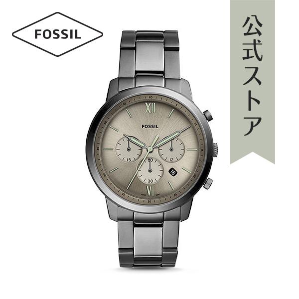 『公式ショッパープレゼント』30%OFF 2018 冬の新作 フォッシル 腕時計 公式 2年 保証 Fossil メンズ ニュートラ クロノ FS5492 NEUTRA CHRONO