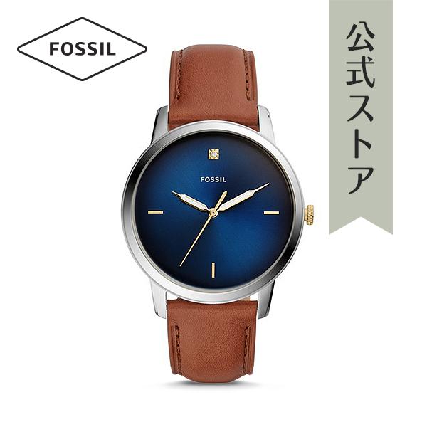 『公式ショッパープレゼント』2018 冬の新作 フォッシル 腕時計 公式 2年 保証 Fossil メンズ ザ ミニマリスト H FS5499 THE MINIMALIST H