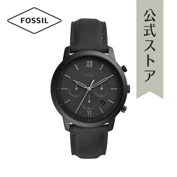 『公式ショッパープレゼント』2019 春の新作 フォッシル 腕時計 公式 2年 保証 Fossil メンズ FS5503 NEUTRA CHRONO 44mm