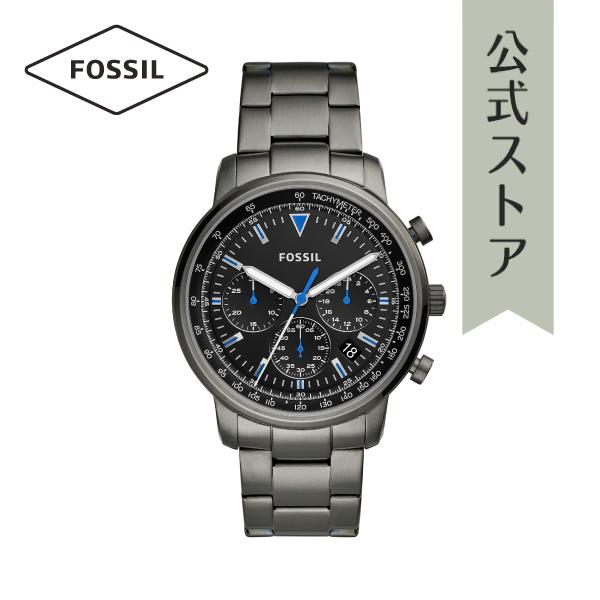 『公式ショッパープレゼント』2019 春の新作 フォッシル 腕時計 公式 2年 保証 Fossil メンズ FS5518 GOODWIN CHRONO 44mm
