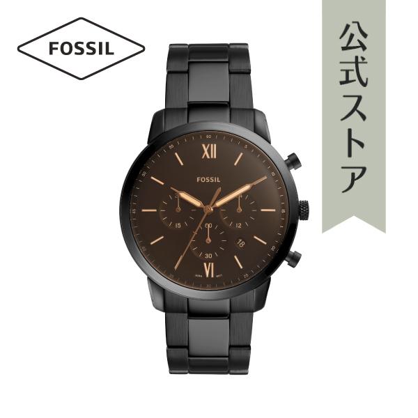 『公式ショッパープレゼント』2019 春の新作 フォッシル 腕時計 公式 2年 保証 Fossil メンズ FS5525 NEUTRA CHRONO 44mm