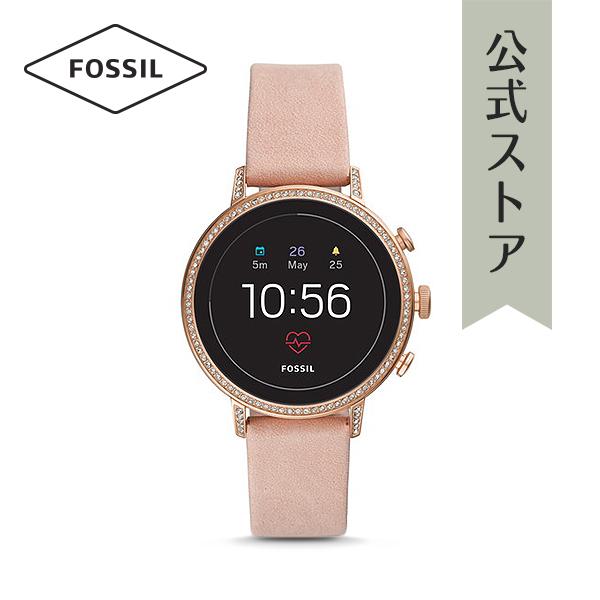 『公式ショッパープレゼント』ジェネレーション4 フォッシル タッチスクリーン スマートウォッチ 公式 2年保証 Fossil Smartwatch 腕時計 レディース ベンチャー FTW6015 VENTURE HR