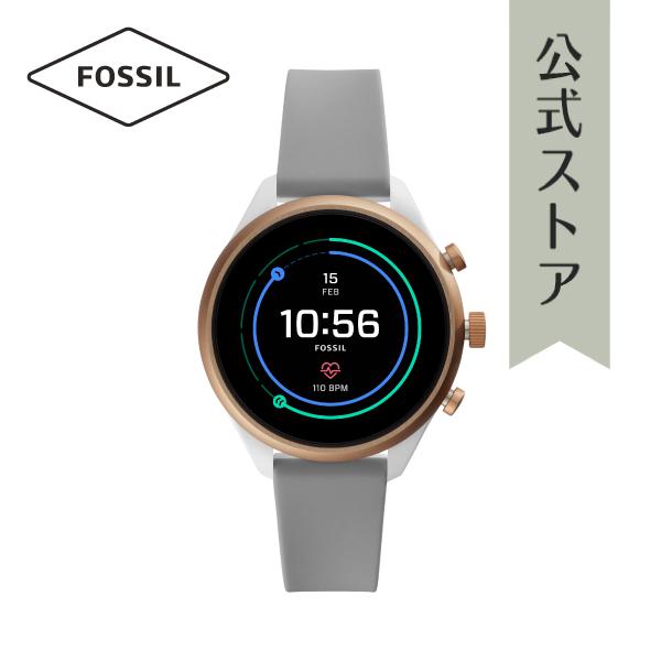 『公式ショッパープレゼント』フォッシル タッチ スクリーン スマートウォッチ 公式 2年保証 Fossil Sport Smartwatch 腕時計 レディース FTW6025 41mm
