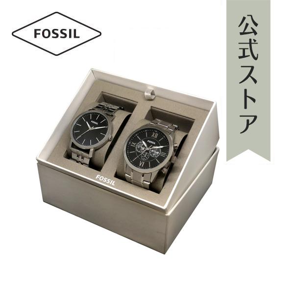 『公式ショッパープレゼント』フォッシル ペア 腕時計 公式 2年 保証 Fossil メンズ FLYNN LUTHER 3H BQ1125IE BQ2312I FW129ST