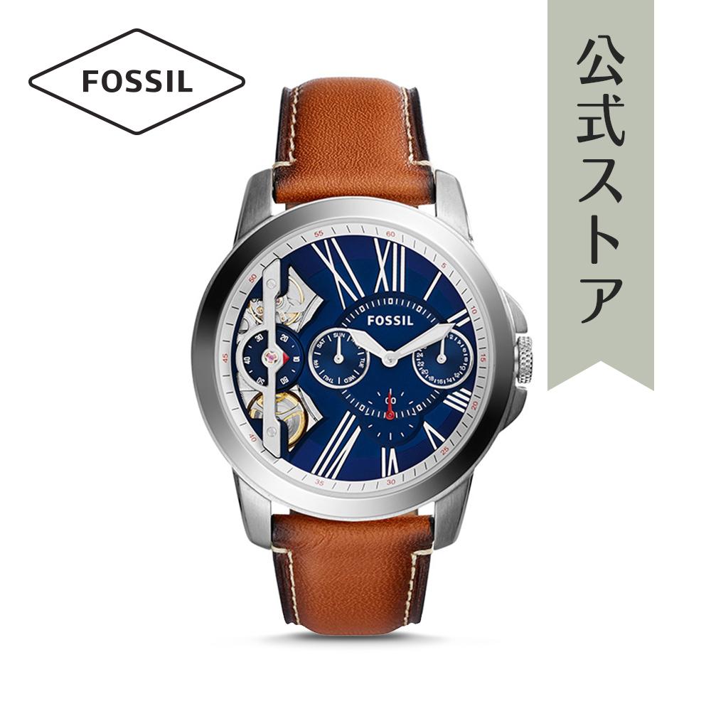 『公式ショッパープレゼント』フォッシル 腕時計 公式 2年 保証 Fossil メンズ グラント ツイスト ME1161 GRANT TWIST
