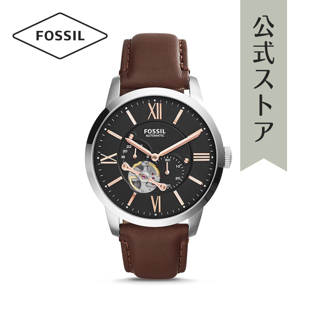 『公式ショッパープレゼント』フォッシル 腕時計 公式 2年 保証 Fossil メンズ タウンズマン オートマチック ME3061 TOWNSMAN AUTOMATIC