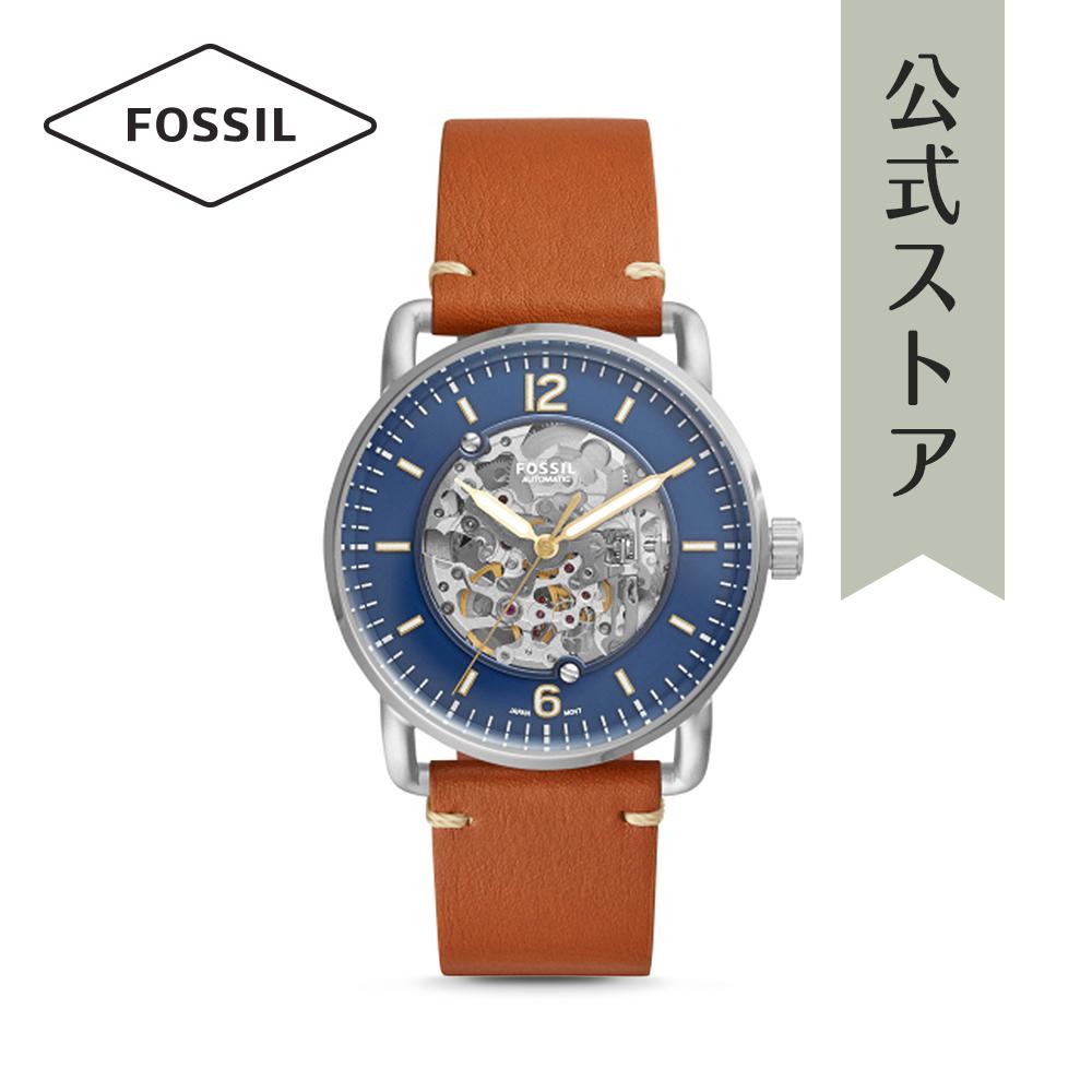 【1000円OFFクーポン配布中/25日まで】【公式ショッパープレゼント】フォッシル 腕時計 公式 2年 保証 Fossil メンズ ザ・コミューター オート ME3159 THE COMMUTER AUTO