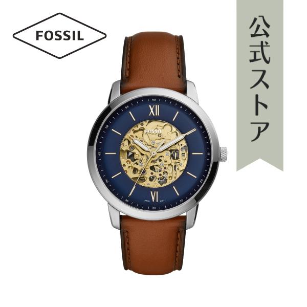 『公式ショッパープレゼント』2019 春の新作 フォッシル 腕時計 公式 2年 保証 Fossil メンズ ME3160 NEUTRA AUTOMATIC 44mm