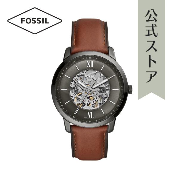 『公式ショッパープレゼント』2019 春の新作 フォッシル 腕時計 公式 2年 保証 Fossil メンズ ME3161 NEUTRA AUTOMATIC 44mm