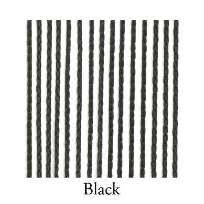 【Venus Select】リリアンカーテンL-003 Black 防炎加工