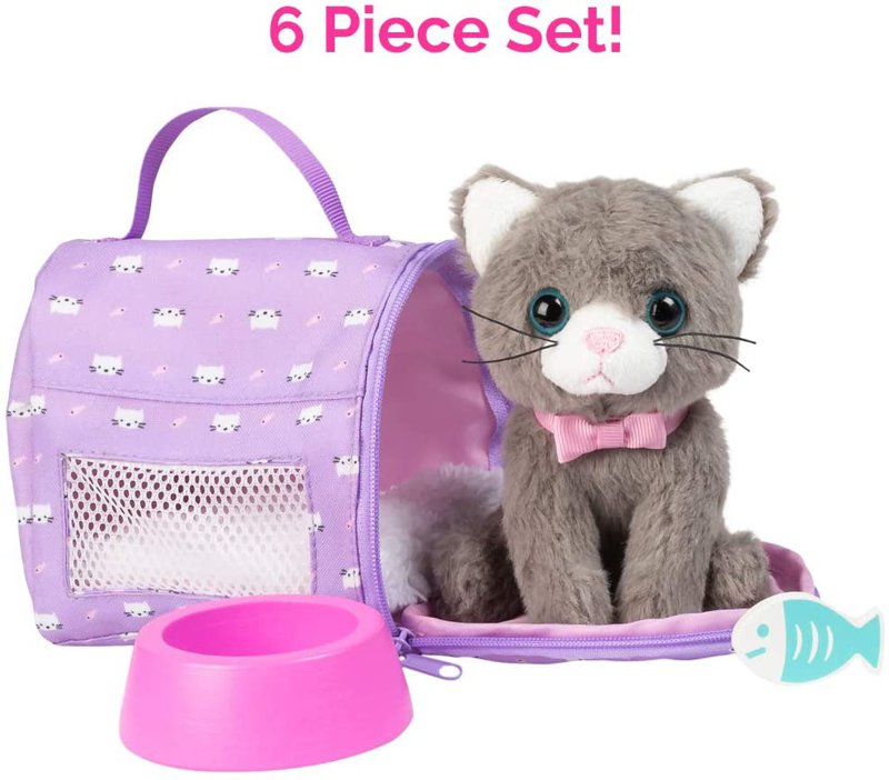 アドラ 安心の定価販売 アメージングペット 子猫のぬいぐるみ Founder 6点セット Adora Founderがお届け 期間限定お試し価格 ドール 人形
