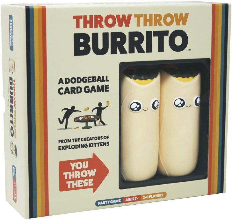 ExplodingKittens LLC ブリ Founder セールSALE%OFF Exploding Kittens Founderがお届け ブリトー投げゲーム Burrito Throw ドッジボールカードゲーム 格安店