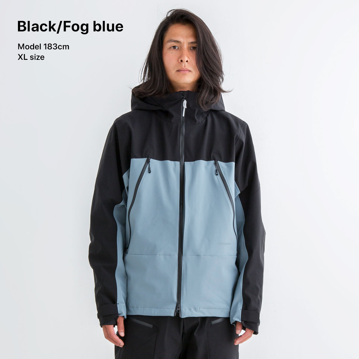 43Degrees Men's Snowboard Jacket