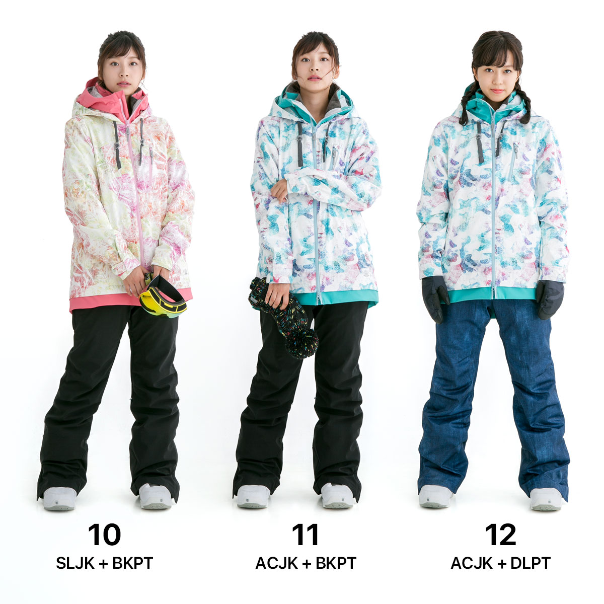 43DEGREES Women's Snowboard Jacket and Pant