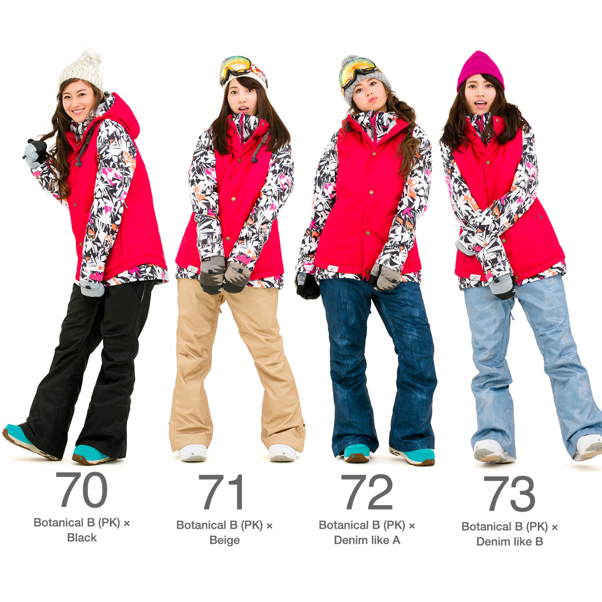 43Degrees Women's Snowboard Jacket and Pant (reserve)