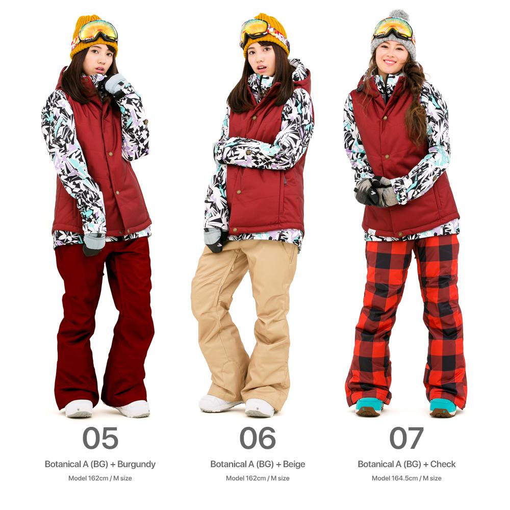 16' 新 43 度滑雪,滑雪单板滑雪女装上下集