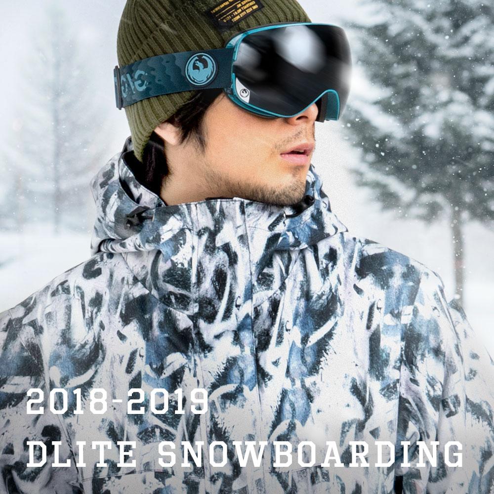 スノーボードウェア メンズ スキーウェア 上下 セット DLITE 型落ち スノボウェア スノーボード ウェア スノボ ボード ウェア 大きいサイズ 18-19 送料無料【交換返品不可】
