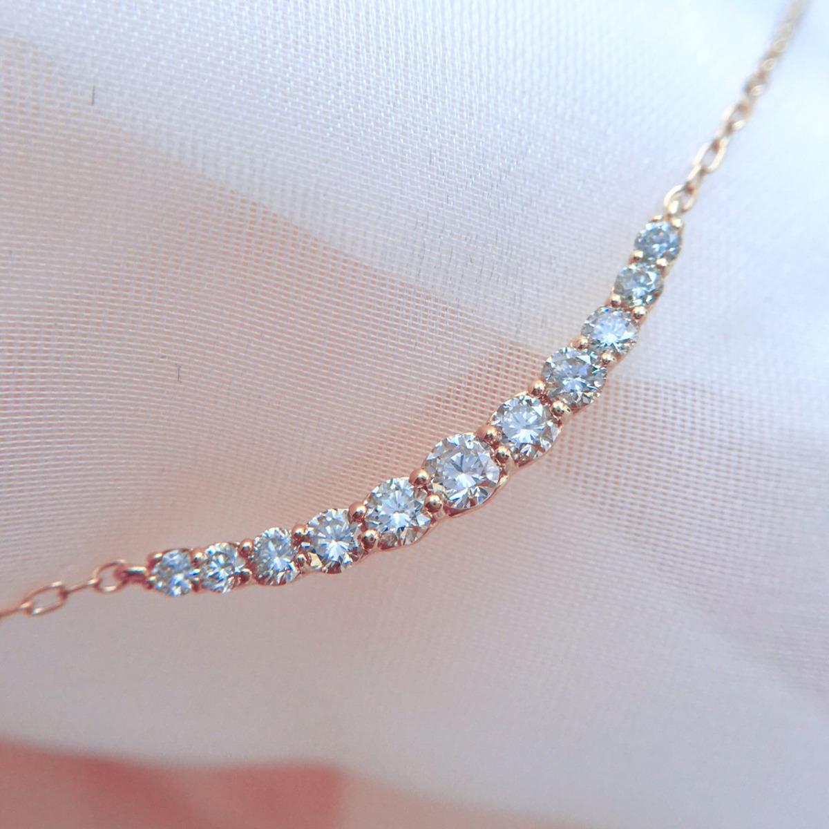 【鑑別書付】 0.5ct ダイヤモンド SI-VS K18 イエローゴールド ペンダント ネックレス 4月誕生石// 【コンビニ受取対応商品】
